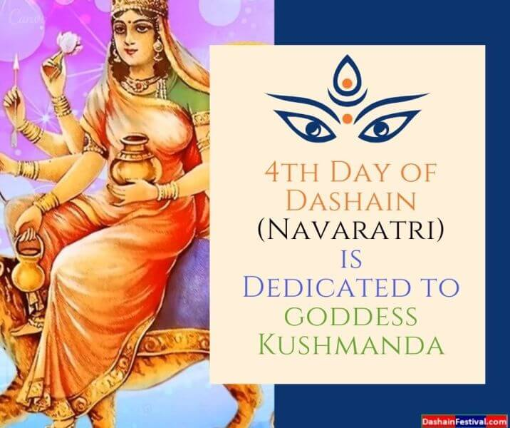 4th day of Dashain Navaratri Goddess Kushmanda