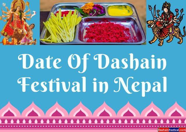 When is Nepali festival Dashain date