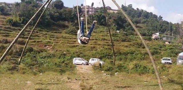 Dashain Swings Dashain Ping boy